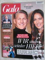 NEU ungelesen Zeitschrift GALA Nr