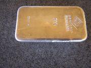 Silberbarren 1000g Degussa - Silber 1 Kg-Barren