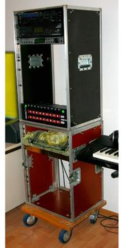 Case Tonstudio Rack-System Flightcase PA