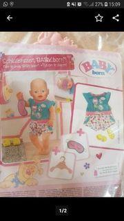 Baby born Schlafenszeit Set
