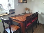 Esstisch mit 6 Stühlen Marke