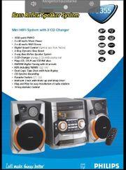 Stereoanlage von Philips FW C355