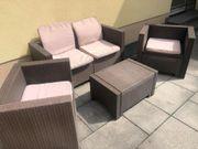 Polyrattan Gartengarnitur Lounge