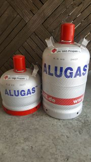 Alugasflaschen 11kg und 6kg