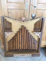 Orgel - Prospekt Schreinerarbeit 1980