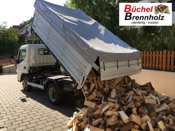 Brennholz Hartholz gemischt aus Eiche
