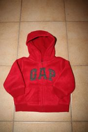 GAP Kapuzen-Jacke Fleece