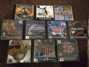PS1 Spiele Große Auswahl - TOP
