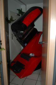 Ergoline Solarium 8000 Teilkörperbräuner rot