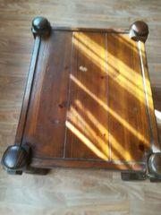 Vintage Holztisch Wohnzimmer Beistelltisch
