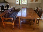 Gelegenheit Tisch verlängerbar und Sitzbank