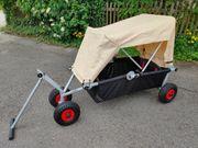 ulfBo Komfort ultraleichter faltbarer Bollerwagen