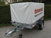 PkW-Anhänger Stema 750kg mit Plane