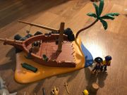 Playmobil 4136 Seeräuber-Insel Piraten Wrack