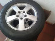 Hyundai Tucson Sommerreifen mit AluFelgen
