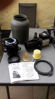 Sandfilteranlage Pumpe Aqua Splash 4