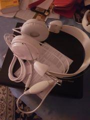 Kopfhörer weiss unbenutzt
