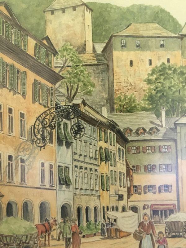 Zwei Bilder von Feldkirch