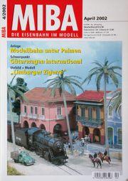 Miba-Die Eisenbahn im Modell April
