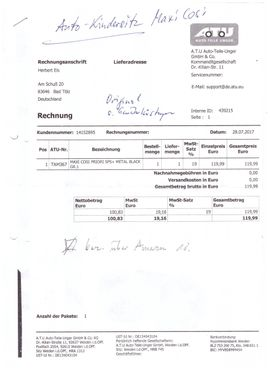 Maxi Cosi PKW-Kindersitz: Kleinanzeigen aus Bad Tölz - Rubrik Autositze