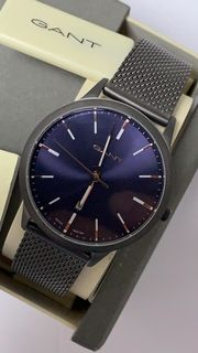 GANT GTAD05700599I Armbanduhr Datum Dunkelgrau