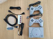 PlayStation Classic mit Hub und