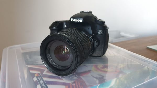Canon 60d Sigma 17-70 mm