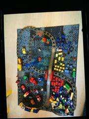 Volle Kiste mit Lego