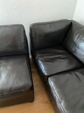 Polster, Sessel, Couch - ledersofa