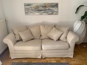 Bequemes Sofa Beige