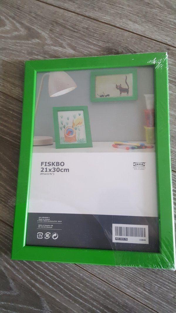 bilderrahmen grün ikea 21x30