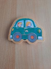 Holzpuzzle Auto