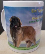 Neu Leonberger Hund Fototasse limitiert
