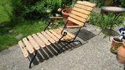 Gartenliegestuhl klassisch - haidermetall - Gartenmöbel Made