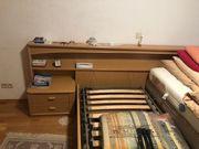 Klassisches Doppelbett Vollholz Eiche