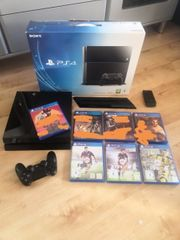 PS4 Console 7 Spiele