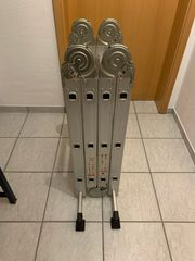 Vielzweck Aluminium Leiter 4 x