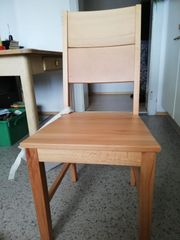 4 Stk Holzstühle