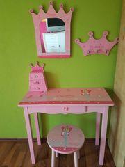 Kinder Frisiertisch pink