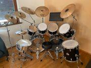 Pearl Schlagzeug überkomplett hochwertig preiswert