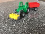 LEGO duplo Traktor mit Anhänger