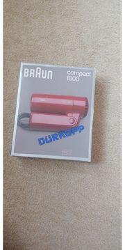 Braun Reiseföhn compact 1000