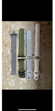 Verschiedene Apple Watch Armbänder 42