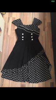 Rockebilly Kleid Gr M