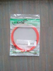 Lichtwellen Leiter Kabel 2m neu