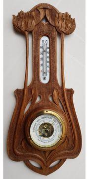 antikes Barometer Thermometer Wetterstation