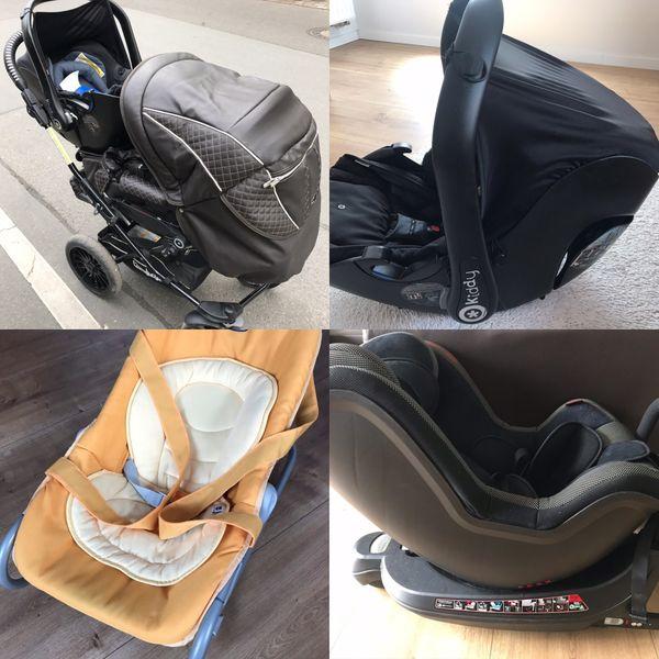 Kombi Babyausstattung Kinderwagen Autositz Sitzschale