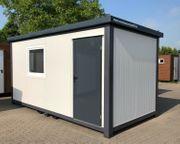 Bürocontainer Wohncontainer Gartenhaus Büro 5x2