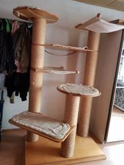 Katzen-Kratzbaum sehr stabil
