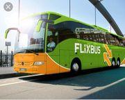 Gutschein für Flixbus
